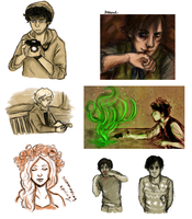 look a les mis dump by frecklesmelody