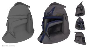 Clone wars helmet by rundown-projects