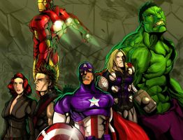 The Avengers by DarroldHansen
