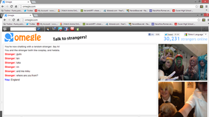 Vocoloid on Chatroulette by CoolShazza