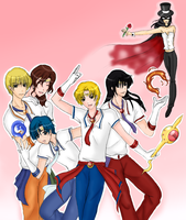 Sailor Moon... Gender-swap by Musapan