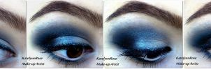 New year's eve make-up idea 1 by KatelynnRose