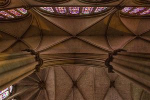 4 Le Mans cathedral ceilings by hubert61