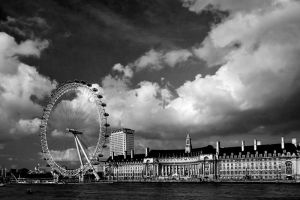 London Eye by mole2k