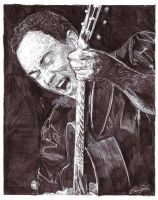 Dave Matthews pencil sketch by blairsmith