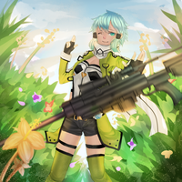 SINON by Patutie-Chan