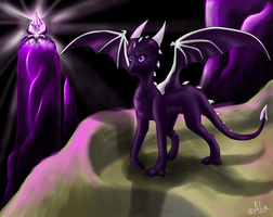 Ender Dragon (redraw) by Nataly77