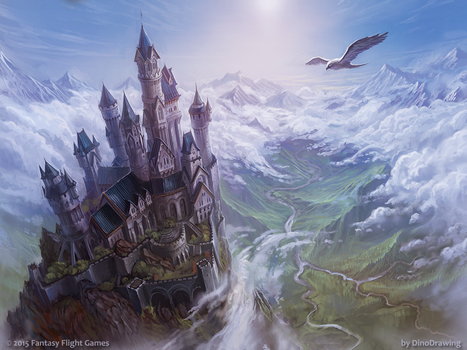 Calm over Westeros by DinoDrawing