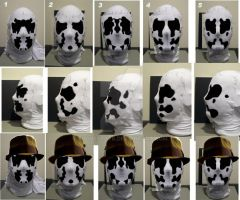 Rorschach mask patterns 1 by FugueState
