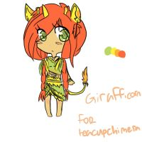 girafficorn palette adopt for teacupchimera by sexy-adoptsXD