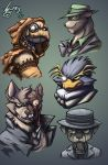 Bat Villains animalistic 1 by Jaehthebird