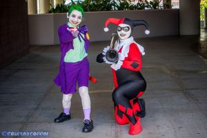 Joker Jr. and Harley Quinn 22 by Lady-Ha-ha