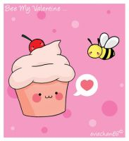 BEE my Valentine... by eviechan68