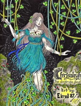 #Team Ghosts: Chrisoleah: the Clover-Vine Ghost by eirol87