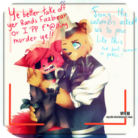FNAF | Smile for the Kiddos by Myebi