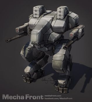 Mecha Front - Blackfrost Heavy by Shimmering-Sword