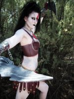 Tip of the Blade: Kratos Cosplay by CLeigh-Cosplay