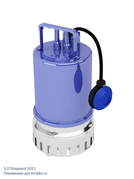 Submersible pump 3d by SDSheppard