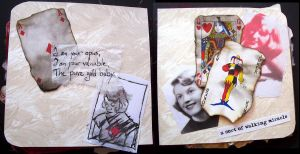 Sylvia altered book VII by Ewanecka