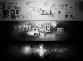 White and Black Production by LeeinaGFX