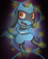 A festive riolu by Charly-sparks