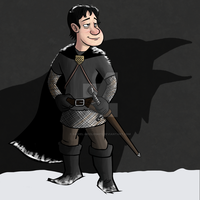 Ser Waymar Royce from A Song of ice and fire by Daniel-McCloskey