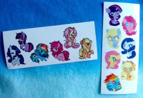 Pony Stickers by ponymonster