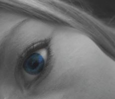 black white and blue by blonde-thinking