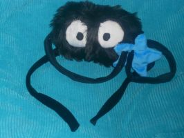 Spirited Away Soot Ball Plushie by Sophillia