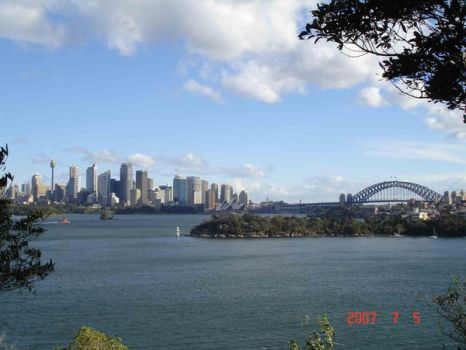 Sydney City Panorama by N3V37S