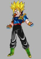 Teen Goken (Super Saiyan) V1 by OWC478