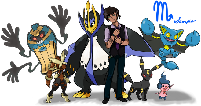 Pokemon Trainer Schylar (Scorpio) by Call-Of-The-Indie