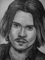 Johnny Depp by AlyssiaJayde
