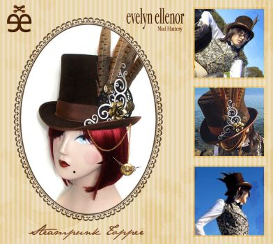 Steampunk Topper by evelynellenor