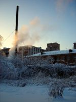 Old factory by Lineageman