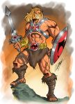Mix He-Man / Lion-O by Ronniesolano
