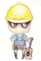 Chibi BLU Engineer by TakarasAsylum
