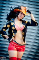 Nico Robin Film Z Cosplay 2 by As-Naye