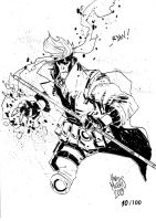 Sketchbook Sketch 2013: Gambit! by alessandromicelli
