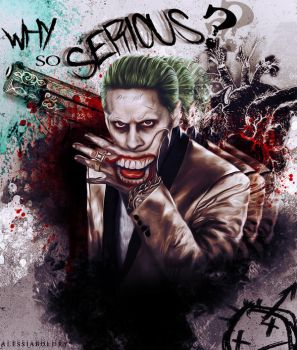 The Joker - Why so serious? by AlessiaBoldry