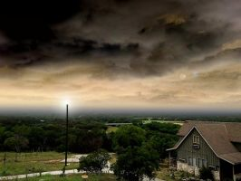 Guadalupe River Ranch Skyline by Phaedris