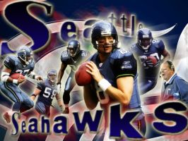 seattle seahawks by thresher72