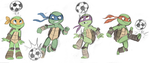 Soccer Ninjas by sharkie19