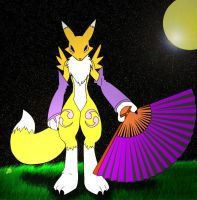 Renamon by Saberwulf
