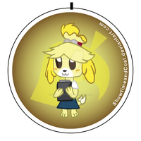 Isabelle Pin by ShowtimeandCoal