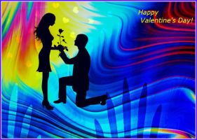 Greeting Card to St. Valentine 2. by Mladavid
