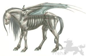 Thestral by Freha