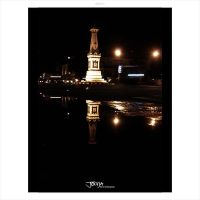 mirror.reflection.city lane by jogjaphotoArt
