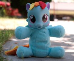 So Soft Rainbow Dash Custom 3 by Agony-Roses