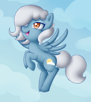 MLP FiM - Up in the Clouds by GracelessUnison